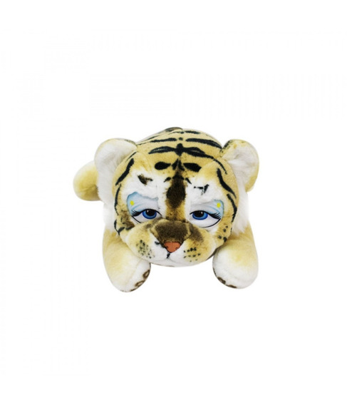 Tigre Filhote Deitado De Bruços 35cm - Pelúcia