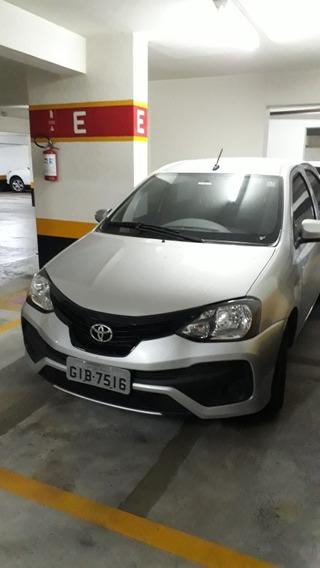 Toyota Etios 1.3 16v X Aut. 5p 2019