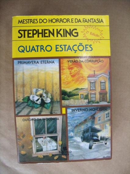 Quatro Estações Stephen King 2ª Edição 4 Histórias Em 1 Livr