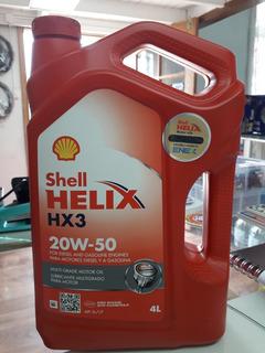 Shell Helix Hx3 20w-50 4 Ltrs