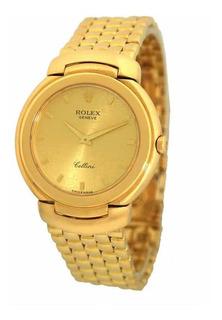 Reloj De Hombre Rolex Celini De Oro