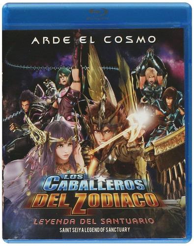 Los Caballeros Del Zodiaco La Leyenda Del Santuario Blu-ray