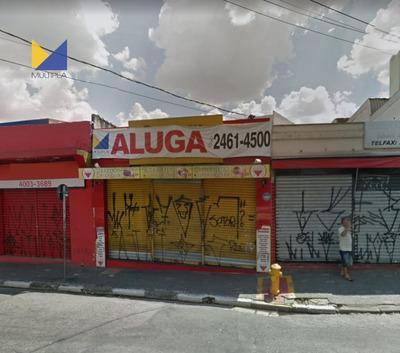 Ponto Comercial Para Alugar No Bairro Centro Em Guarulhos - - 274-2