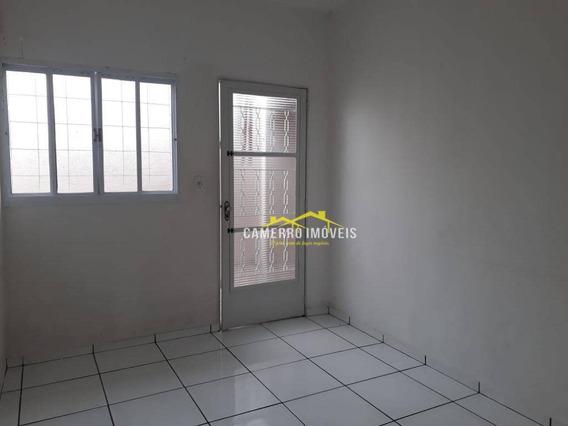 Casa Com 2 Dormitórios Para Alugar Por R$ 750,00/ano - Parque São Jerônimo - Americana/sp - Ca1875