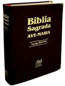 Bíblia Sagrada Letra Grande Preta Sem Zíper