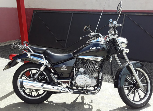 Moto Dafra Kansas 150cc Usada Modelo 2012