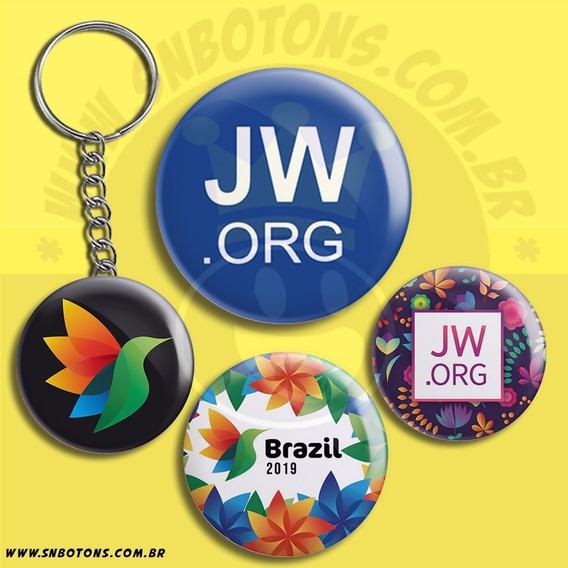 Kit Botons Bottons Jw Org Congresso Regional Internacional