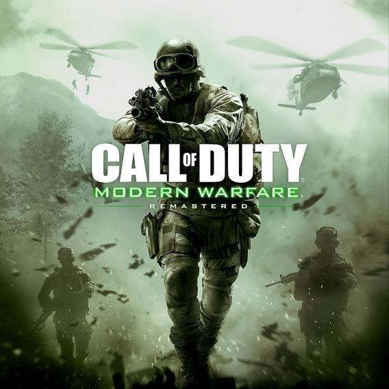 Call Of Duty Modern Warfare Remastered Pc + 2 Jogos Grátis