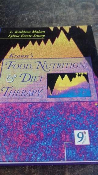 Food,nutrition & Diet Therapy / 9° Edicion/ Frete Grátis