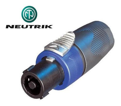 Imagen 1 de 4 de Speakon Neutrik Nl4fx Original Conector Para Bocina
