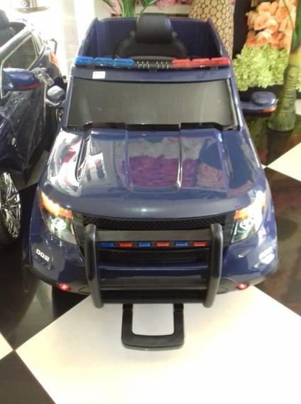 Carrinho Eletrico Ford Ranger 12v Policia Com Controle
