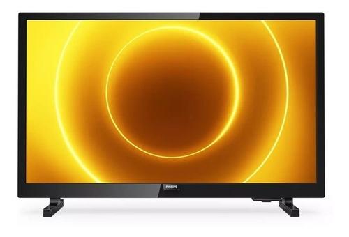 "Imagen 1 de 3 de TV portátil Philips 5500 Series 24PHD5565/77 LED HD 24"" 110V/240V"
