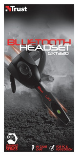 Auriculares Trust Gxt 320 Bluetooth Ps3