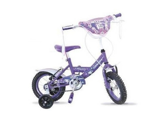 Bicicleta Nena Princes Rod 12 Con Rueditas Top Mega Pilar