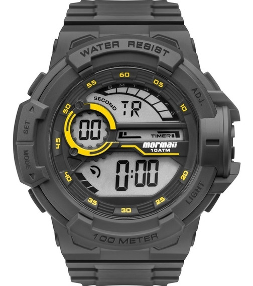 Relógio Digital Masculino Prova Dágua Original Mormaii