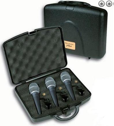 Micrófonos Wharfedale Pro Dm2.0 (3 Pack)