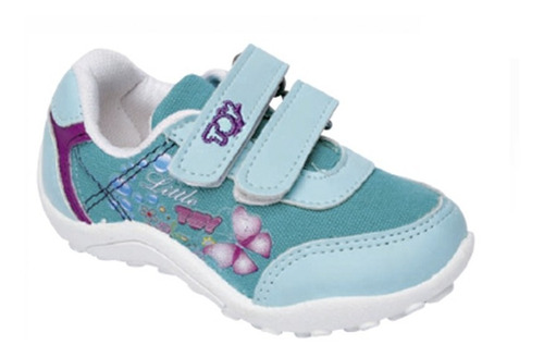 Zapatilla Toy Color Esmeralda (talle 20 Al 26) Art 2075es