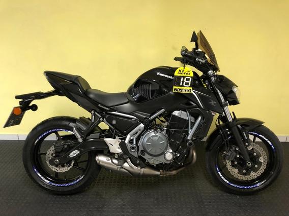 Kawasaki Z650 (2017/2018) Preta