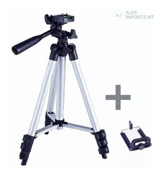 Tripé Universal Telescópico Para Câmera E Celular Cuiabá