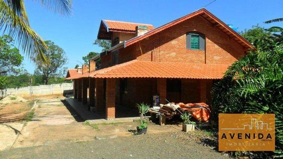 Chácara Residencial À Venda, Bela Vista, Paulinia - Ch0006. - Ch0006