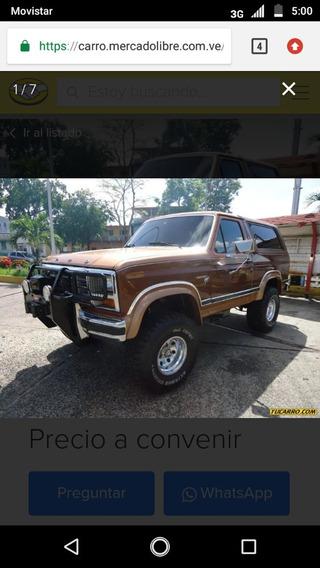 Bronco Marron Motor 8 Cilindros Año 81