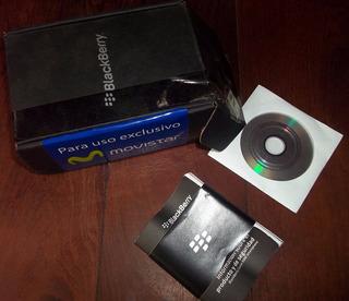 Blackberry Curve 9300 Caja Vacia Manuales Disco En La Plata