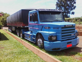 Scania 113 360 1998 Com Carreta Ls