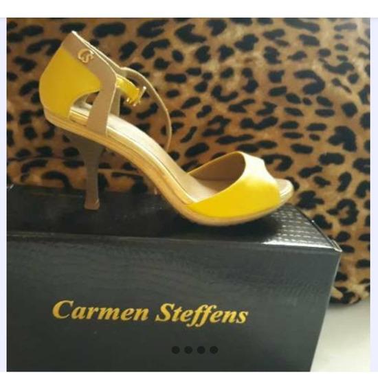 Sandalia Carmen Steffens 36 Amarela