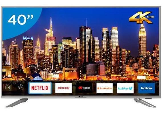 Smart Tv 4k Led 40 Philco Ptv40g50sns-wi-fi