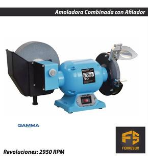 Amoladora De Banco Combinada Con Afilador Gamma 350w 1686ar