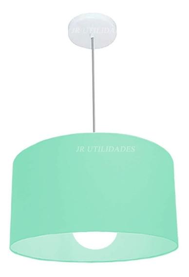 Cúpula De Teto Pendente 35x25 Cm Tiffany Gd 37