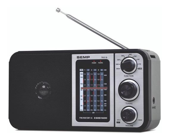 Rádio Portátil Tr01b Semp 4w Radio Am/fm Conexão Usb