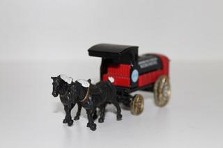 Miniatura Cavalos Com Carroça / Carruagem / 1:43 Chevron