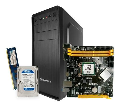 Computadora Intel Core I7 1155 4gb Disco 500gb Tienda