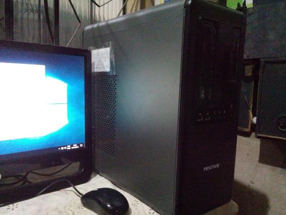 Computador Dual Core + Monitor Aoc 19 Pol. + Periféricos