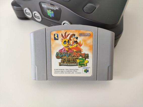 Banjo - Kazooie 2 N64 Nintendo Original Japones Otimo Estado