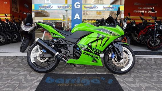 Kawaski Ninja 250r 2012 Ed Verde Impecável