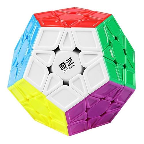 Megaminx Qiyi Mofangge Qiheng S Colorido Dodecahedro Mágico