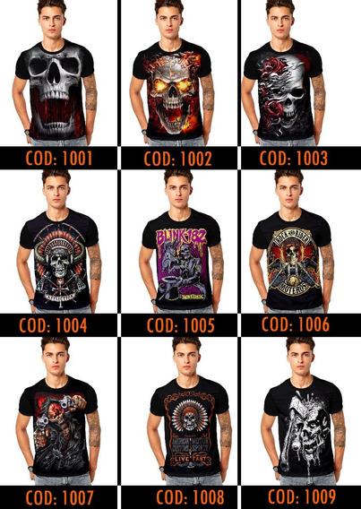 Kit 10 Camisetas Camisa Masculina Atacado Revenda