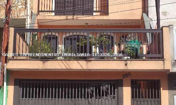 Casa Para Venda Em São Bernardo Do Campo, Montanhão, 3 Dormitórios, 1 Suíte, 1 Banheiro, 5 Vagas - 2000/1166 Cc - Permuta