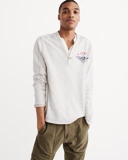 Camiseta Cinza /coral / Cinza Escuro Polos Camisas Hollister 100% Original A Pronta Entrega