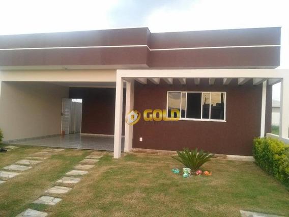 Casa Residencial À Venda, Condomínio Terras Do Fontanário, Paulínia. - Ca0225