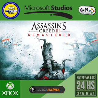 Assassins Creed 3 - Xbox One Modo Local + En Linea
