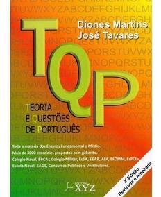 Livro Tqp- Teoria E Questões De Português - 3ªed