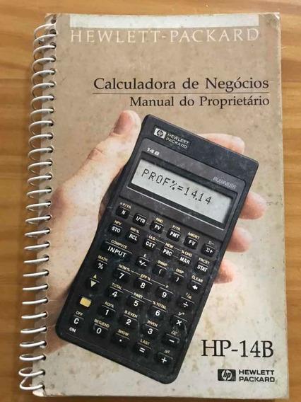 Manual Calculadora Financeira Hp-14b