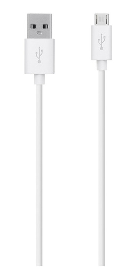 Cable Belkin Sincronización Carga Micro Usb Mixit Blanco