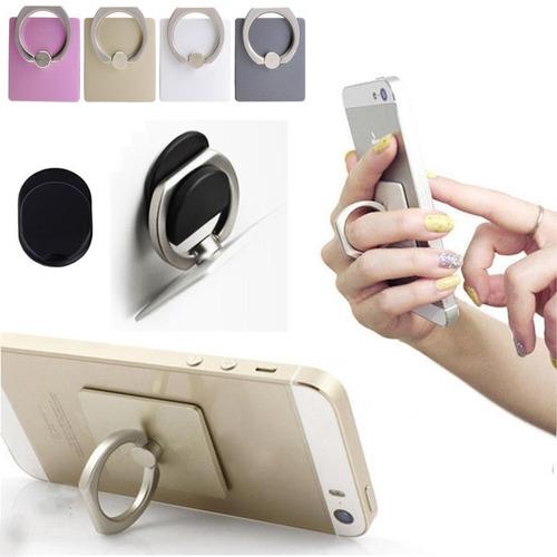 Anillo Soporte Selfie Celular Universal Anti Robo Premium ®