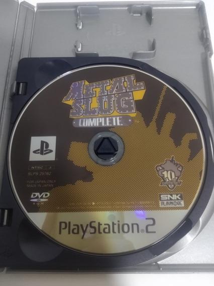 Jogo Metal Slug Complete Playstation 2 Ps2 Original Japonês