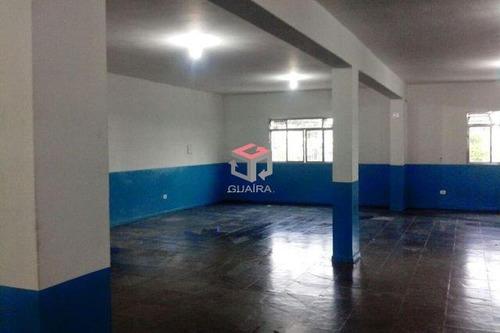 Imagem 1 de 9 de Excelente Salão Comercial Para Locação, 200 M² - Bairro Assunção - São Bernardo Do Campo/ Sp  - 86544