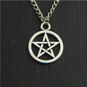 Colar Pentagrama Supernatural Frete Grátis
